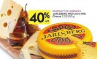 Jarlsberg Mild Cow's Milk Cheese