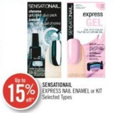 Sensationail Express Nail Enamel or Kit
