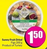 Sunny Fruit Dried Figs 200 g