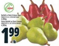 Bartlett Or Stark Crimson Pears