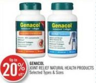 Genacol Joint Relief Natural Health Products