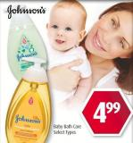 Johnson's Baby Bath Care
