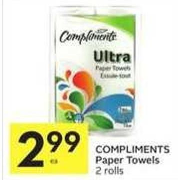 Compliments Paper Towels