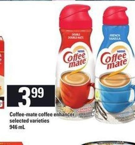Coffee-mate Coffee Enhancer - 946 mL