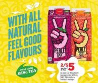 1.75l Minute Maid Beverages Or Any Nestea - Peace Tea Iced Tea Or Fruitopia Beverages