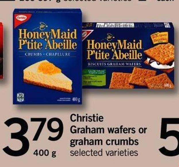 Christie Graham Wafers Or Graham Crumbs - 400 G