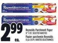 Reynolds Parchment Paper 12in X 35' -