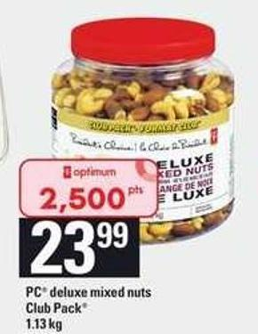 PC Deluxe Mixed Nuts Club Pack - 1.13 Kg