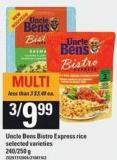 Uncle Bens Bistro Express Rice.240/250 g