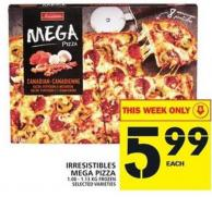 Irresistibles Mega Pizza