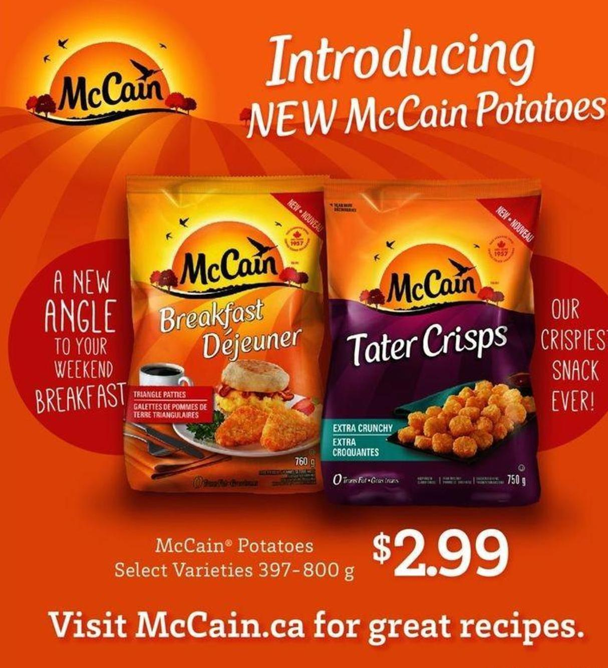 Mccain Potatoes - 397-800 g