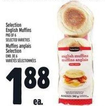 Selection English Muffins