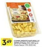 Compliments Naturally Simple Pasta