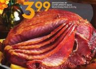 Sensations By Compliments Spiral Sliced Honey Ham