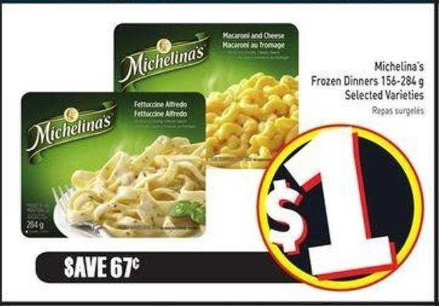 Michelina's Frozen Dinners 156-284 g