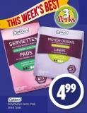 Option+ Incontinence Liners - Pads