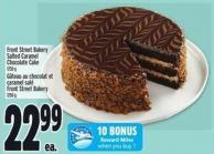Front Street Bakery Salted Caramel Chocolate Cake 1250 g