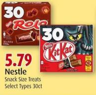 Nestle Snack Size Treats
