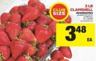 Clamshell Strawberries - 2 Lb