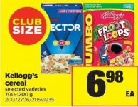 Kellogg's Cereal - 700-1200 g - Club Size