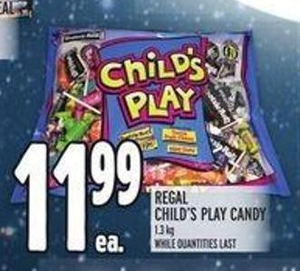 Regal Child's Play Candy