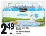 Selection Spring Water