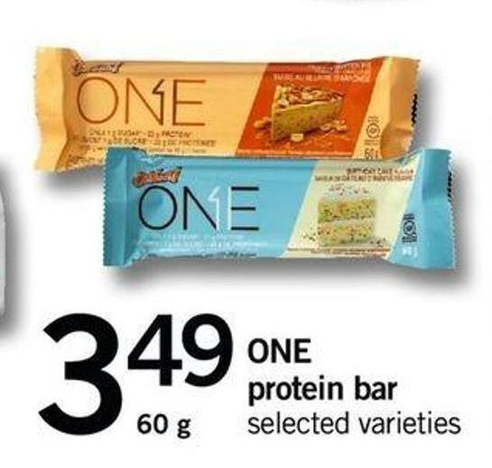 One Protein Bar