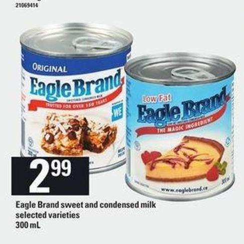 Eagle Brand Sweet And Condensed Milk - 300 mL