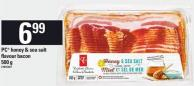 PC Honey & Sea Salt Flavour Bacon - 500 G