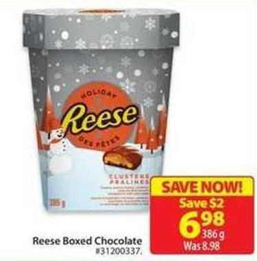 Reese Boxed Chocolate