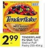 Tenderflake Pie Shell - Tart Shell or Puff Pastry 255-454 g
