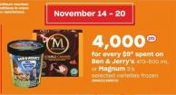 Ben & Jerry's - 473-500 Ml Or Magnum - 3's