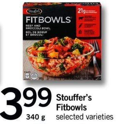 Stouffer's Fitbowls.340 G