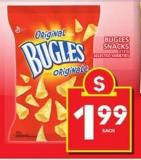 Bugles Snacks - 213 g