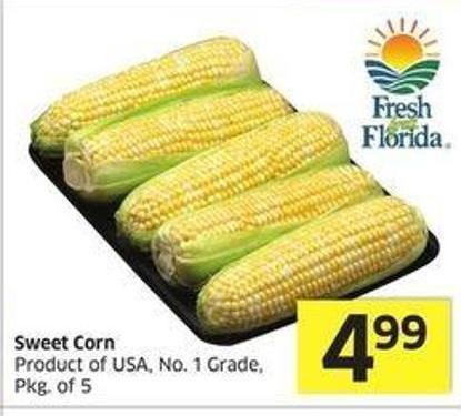 Sweet Corn Product of USA - No. 1 Grade.