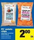 PC Potato Chips - 200/220 G