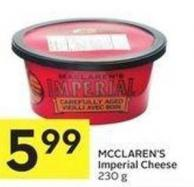 Mcclaren's Imperial Cheese 230 g