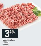 Lean Ground Veal