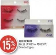 Quo Beauty False Lashes or Adhesive