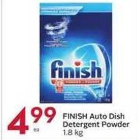 Finish Auto Dish Detergent Powder