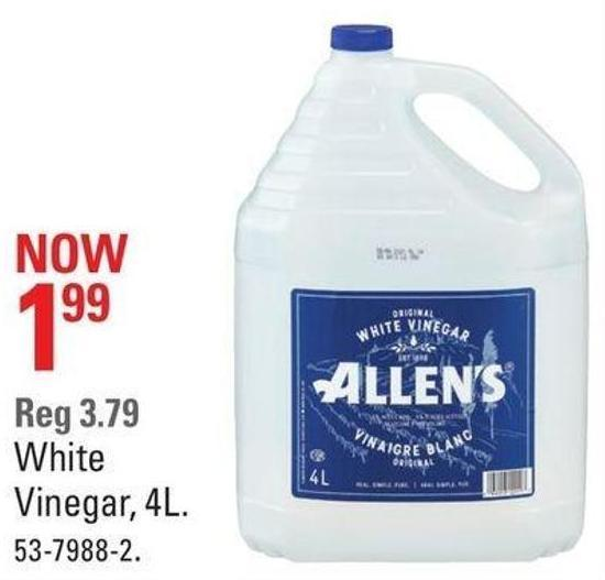 White Vinegar - 4l