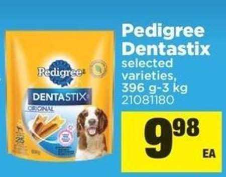 Pedigree Dentastix - 396 G-3 Kg