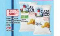 Cape Cod Kettle Cooked Potato Chips - 220 g