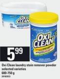 Oxi Clean Laundry Stain Remover Powder - 680-750 g