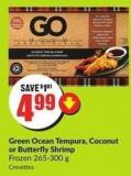 Green Ocean Tempura - Coconut or Butterfly Shrimp Frozen 265-300 g
