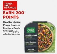 Healthy Choice  Power Bowls or  Frontera Bowls  262-320g Pkg
