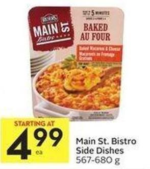 Main St. Bistro Side Dishes 567-680 g