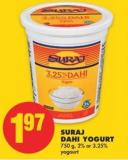 Suraj Dahi Yogurt