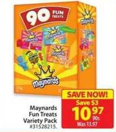 Manynards Fun Treats Variety Pack