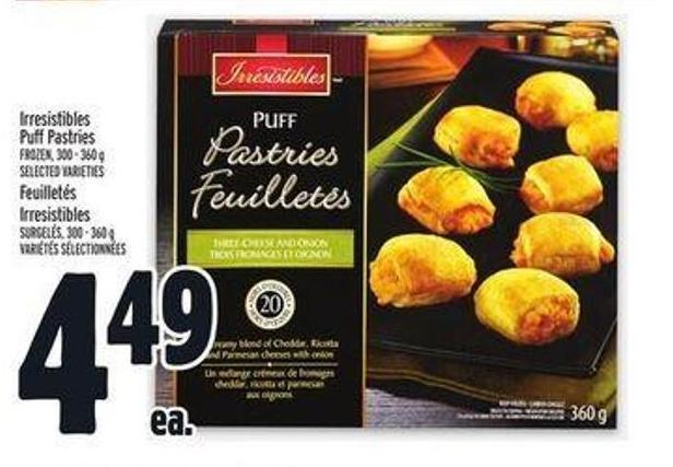 Irresistibles Puff Pastries